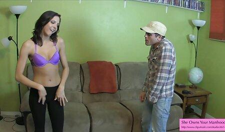 Ruso pequeño Para El Placer anal a su novia en sexo casero mexicanas una silla